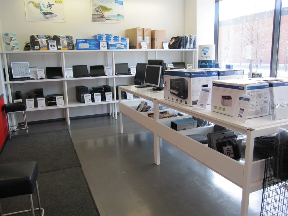 Tietokonekauppa Teraset, Helsinki - Uudet ja käytetyt tietokoneet, kannettavat sekä tietokonehuolto