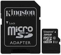 Kingston 32 Gt Canvas Select Class 10 UHS-I microSDHC muistikortti