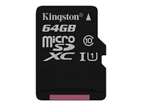 Kingston 64 Gt Canvas Select Class 10 UHS-I microSDXC muistikortti