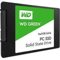 Western Digital Green 2.5'' SATA-600 240 Gt SSD