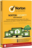 Norton security + backup 2.0 (12 kk suoja, 10 laitetta)